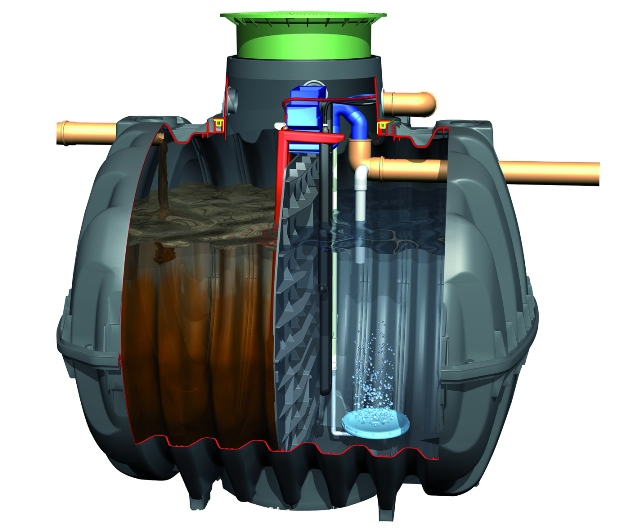graf wastewater tank